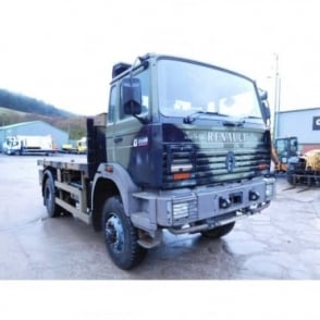 MAXTER G300 4x4 Flatbed Lorry MANUAL GEARBOX