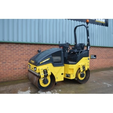 Bomag BW120AD-5 Twin Drum Vibrating Roller.