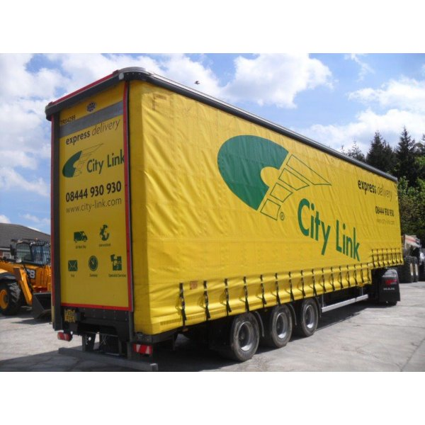 CARTWRIGHT Stepframe Curtainside Trailer 2013 - Commercial Vehicles ...