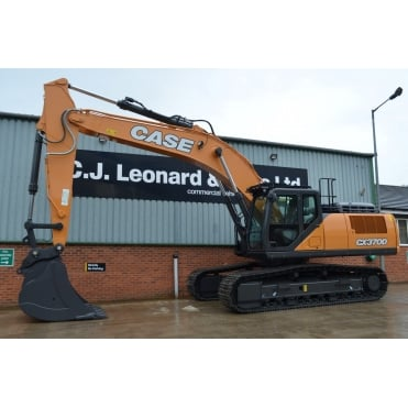 CASE CX370D Tracked Excavator.
