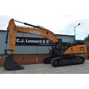 CASE CX750D Crawler Excavator.