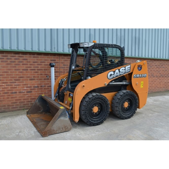 CASE SR130 Wheeled Skid Steer.