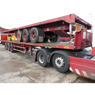45ft Tri-Axle Flatbed Trailer 1992 - 1994 **CHOICE**