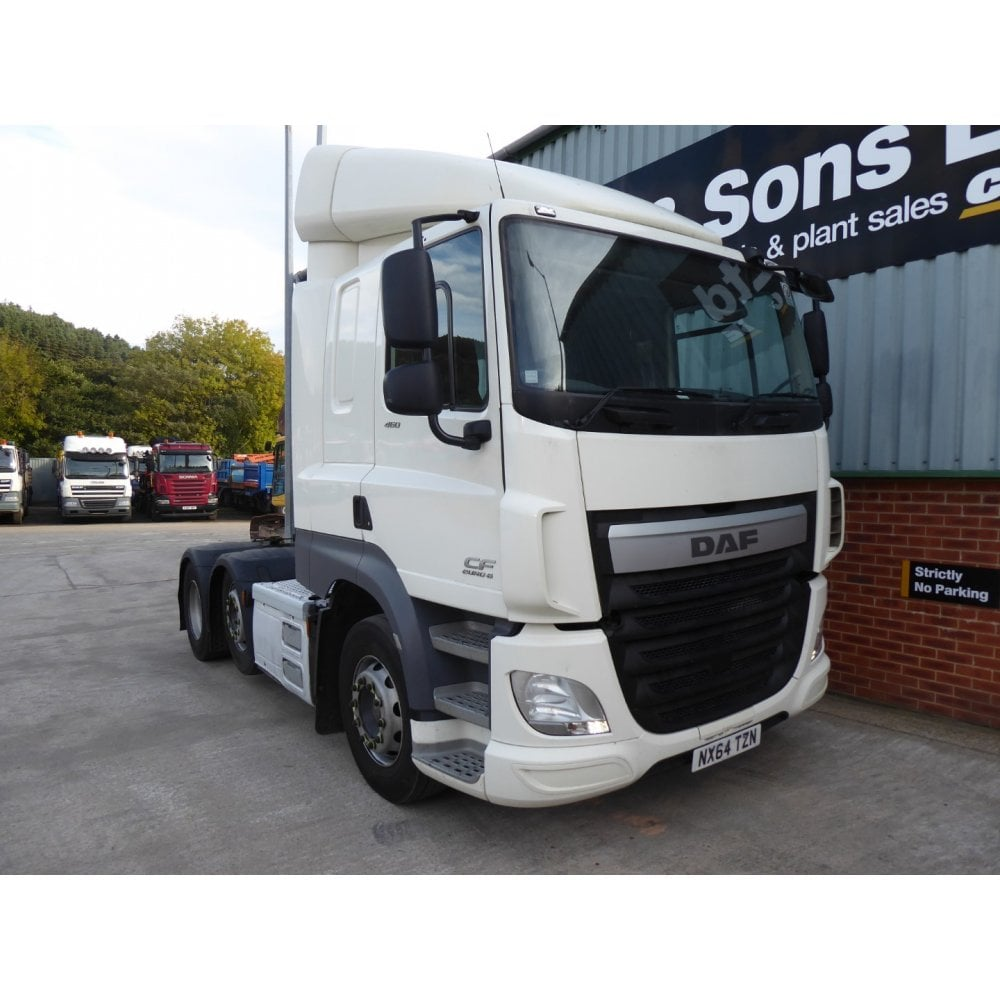 DAF CF460 6 x 2 Tractor Unit, Manual Gearbox 2014, Euro 6
