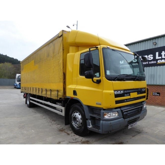 DAF CF65-250 4x2 Curtainside 2010 EURO 5