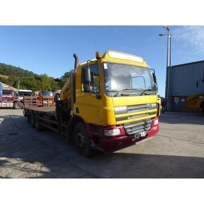 DAF CF75.310 6 x 4 Beavertail+Crane 2004