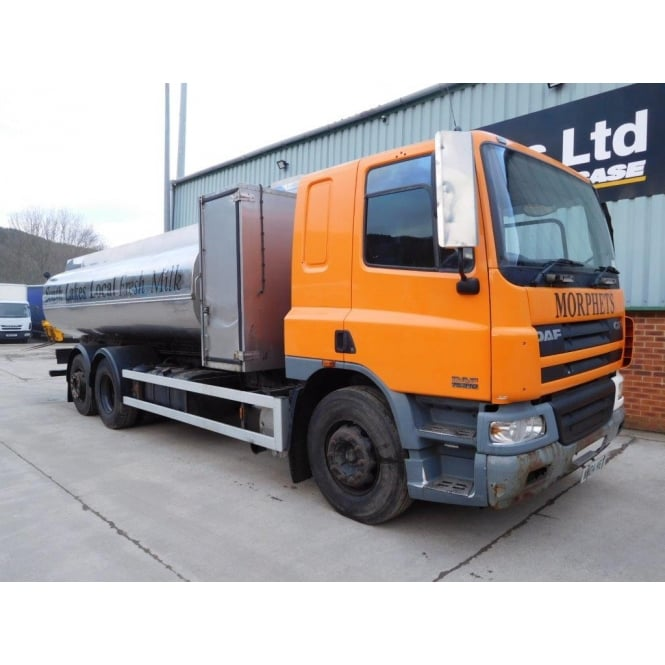 DAF CF75-310 6x2 Milk/Water Tanker 2005 MANUAL GEARBOX