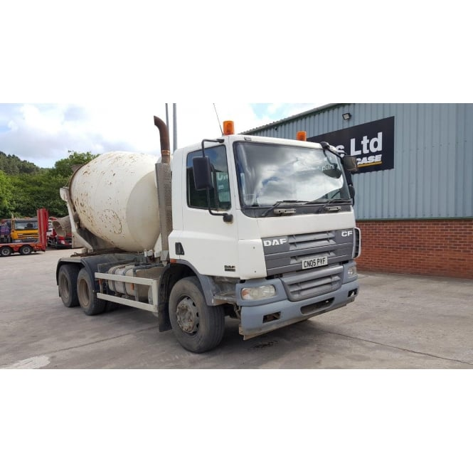 DAF CF75-310 6x4 Cement Mixer 2005 MANUAL GEARBOX