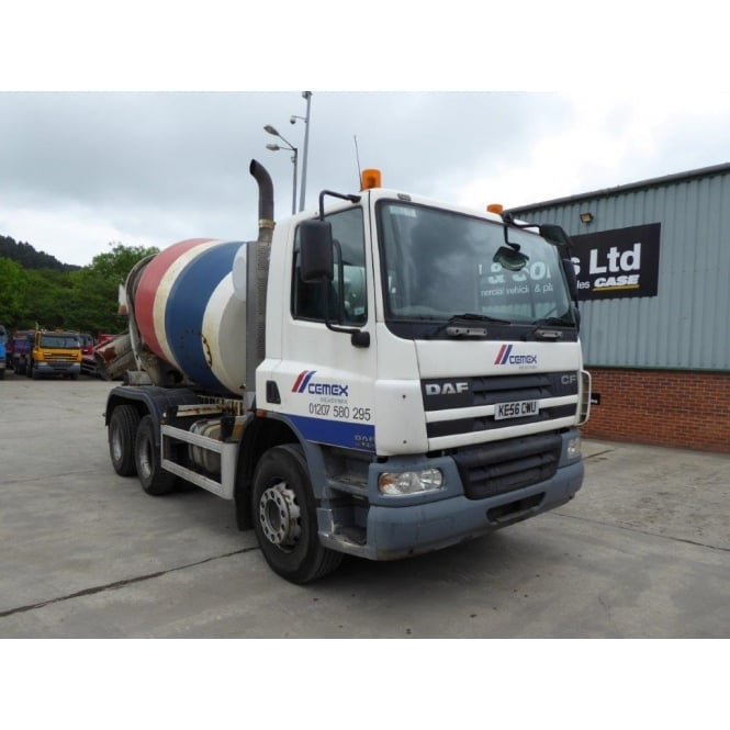 DAF CF75-310 6x4 Cement Mixer MANUAL GEARBOX