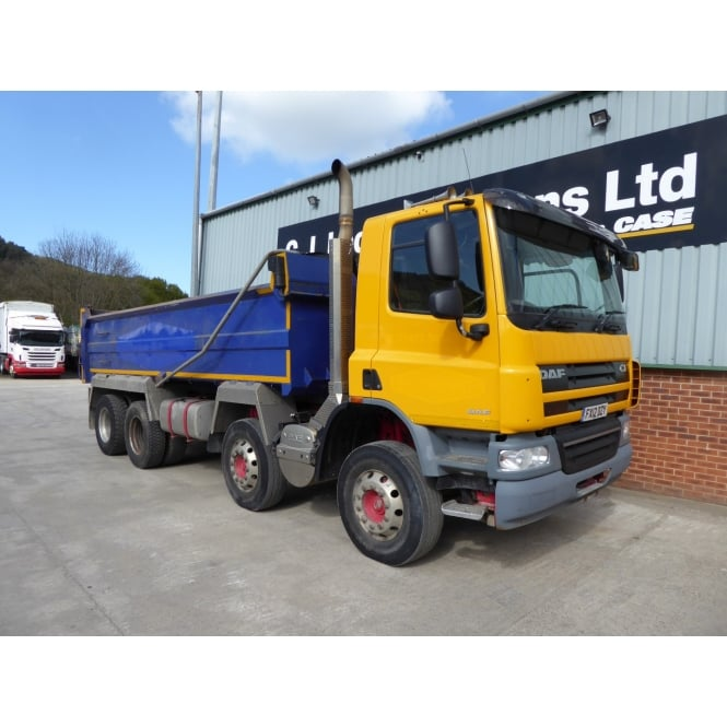 DAF CF75-360 8x4 Tipper 2012 MANUAL GEARBOX