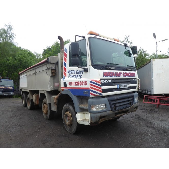 DAF CF85.340 8 x 4 Tipper, Manual Gearbox 2006