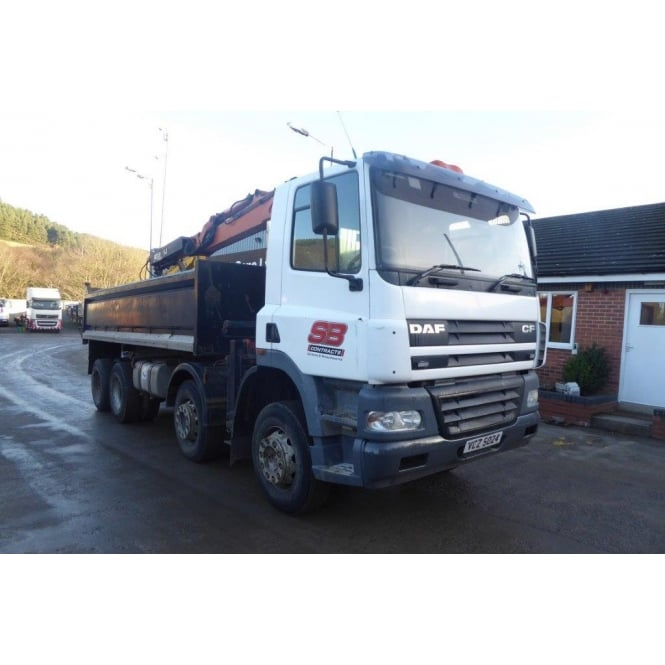 DAF CF85-340 8x4 Tipper/Grab 2004 MANUAL GEARBOX