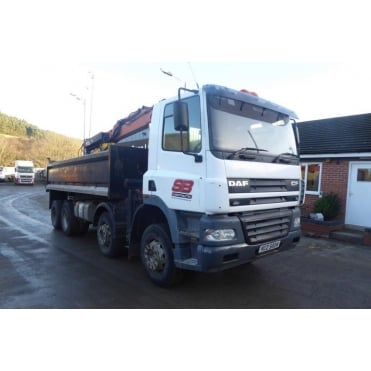 CF85-340 8x4 Tipper/Grab 2004 MANUAL GEARBOX