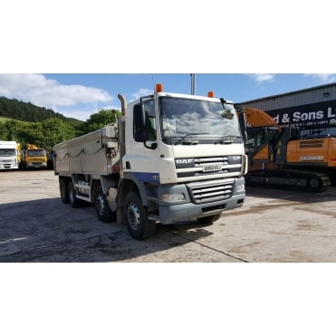 CF85-360 8x4 2008 Alumninium Insulated Tipper 2008 MANUAL GEARBOX EURO 5