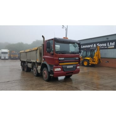 CF85-360 8x4 2008 Alumninium Insulated Tipper 2008 MANUAL GEARBOX
