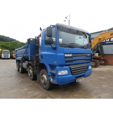CF85-360 8x4 Tipper Grab 2007 MANUAL GEARBOX