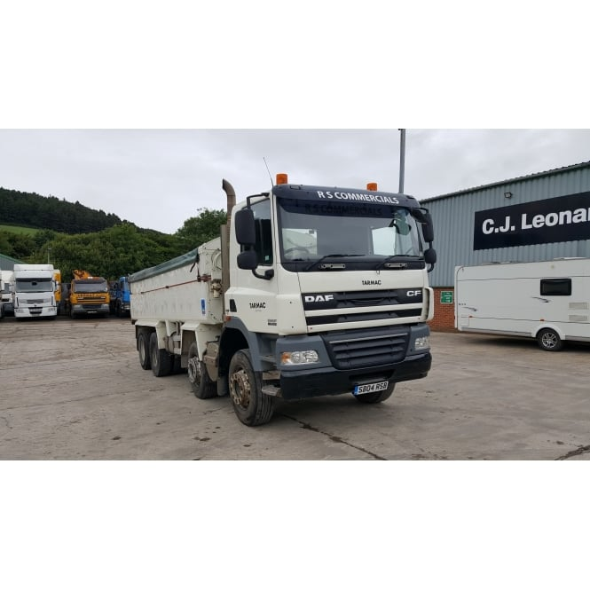 DAF CF85-410 8x4 Tipper 2008 MANUAL GEARBOX