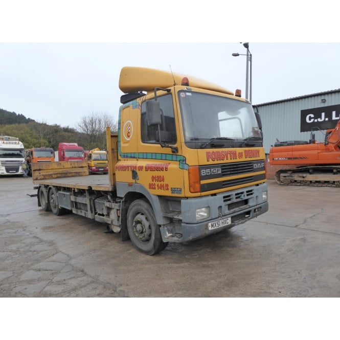 DAF CF85.430 6 x 2 Flatbed 2001 MANUAL GEARBOX