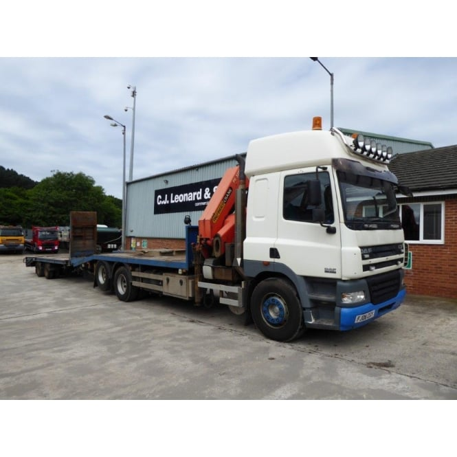 DAF CF85-430 6x2 Cheese Wedge Crane Lorry - Tandem Axle Drag 2006