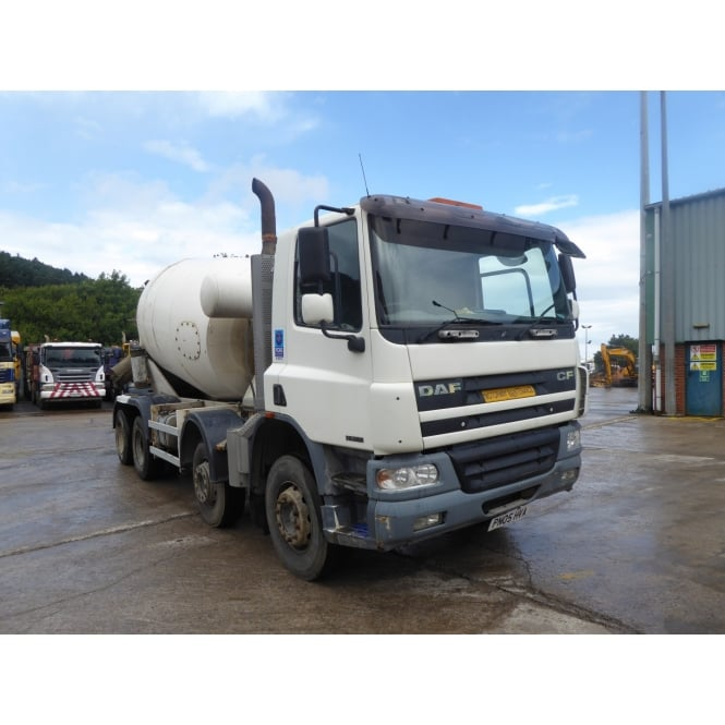 DAF CFD75-360 8x4 Concrete Mixer 2005 MANUAL GEARBOX