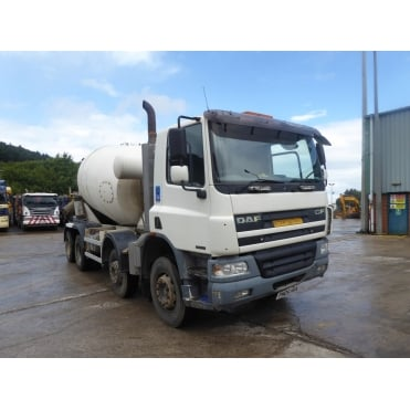 CFD75-360 8x4 Concrete Mixer 2005 MANUAL GEARBOX