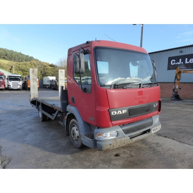 DAF LF45-130 4x2 Flatbed Beavertail 2006 MANUAL GEARBOX