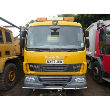 LF45-160 4x2 Road Sweeper 2008 MANUAL GEARBOX **LEFT HAND DRIVE**