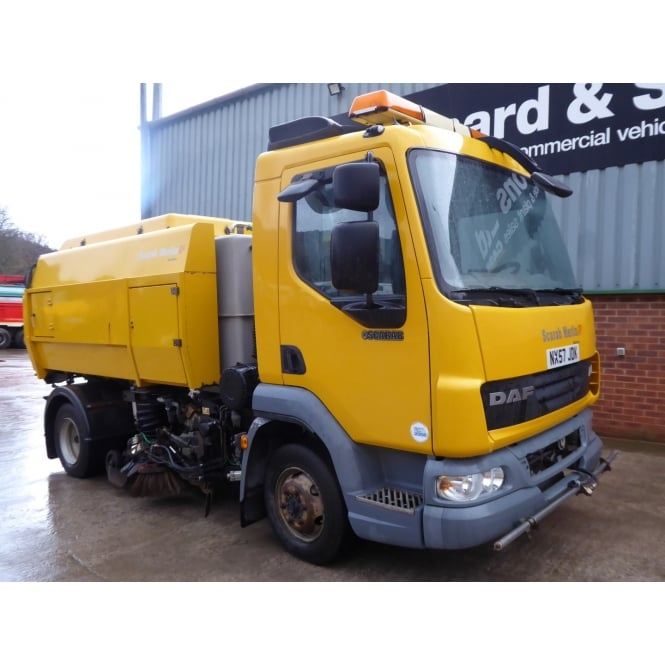 DAF LF45-160 4x2 Road Sweeper 2008 MANUAL GEARBOX **LEFT HAND DRIVE**