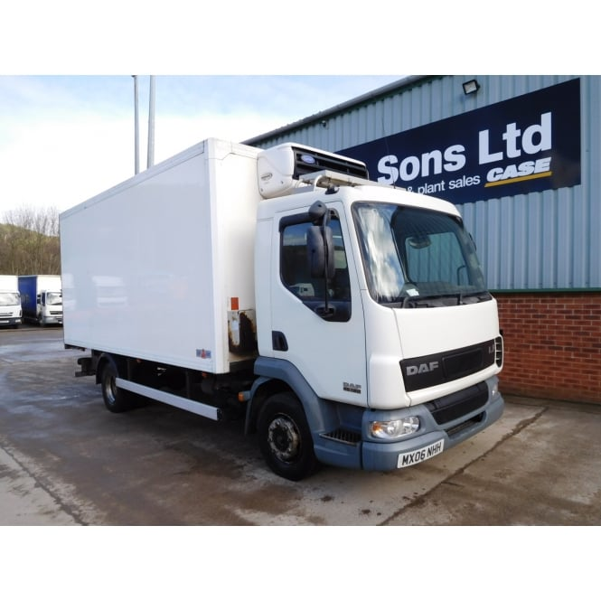 DAF LF45-180 4x2 Refrigerated Lorry, 12 ton, 2006, MANUAL GEARBOX