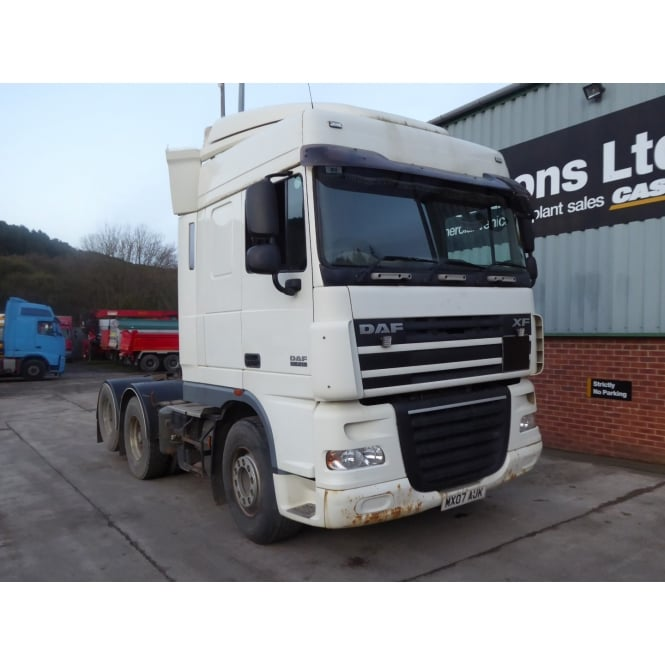 DAF XF105-510 6x2 Tractor Unit 2007 MANUAL GEARBOX