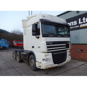 XF105-510 6x2 Tractor Unit 2007 MANUAL GEARBOX