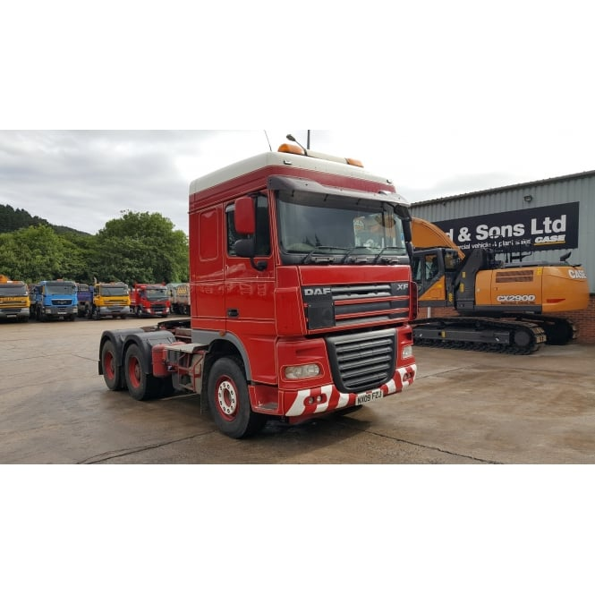 DAF XF105-510 6x4 Tractor Unit 2009 MANUAL GEARBOX