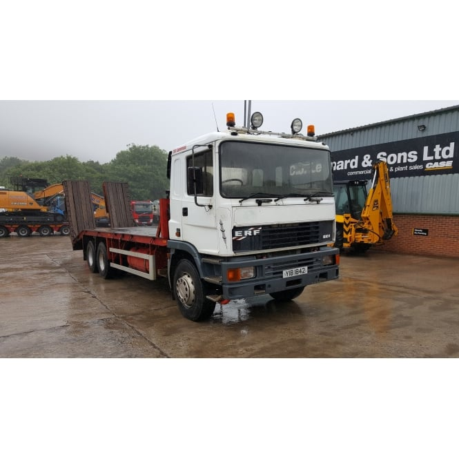 ERF EC 8-27 6x4 Flatbed Beavertail 1996 MANUAL GEARBOX