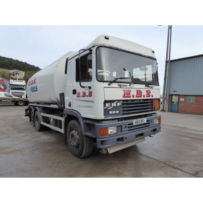 ERF EC8-280 6x4 Fuel Tanker 1998 MANUAL GEARBOX **ADR SPEC**