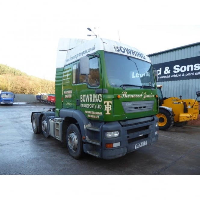 929667713c ERF ECT 6x2 Tractor Unit 2005 MANUAL GEARBOX - Commercial Vehicles ...