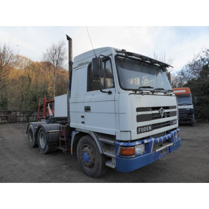 FODEN 4380 6x4 Tractor Unit 1997 MANUAL GEARBOX EURO 1
