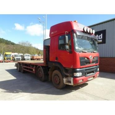 Alpha 3000.385 8 x 4 Flatbed, Manual Gearbox 2005