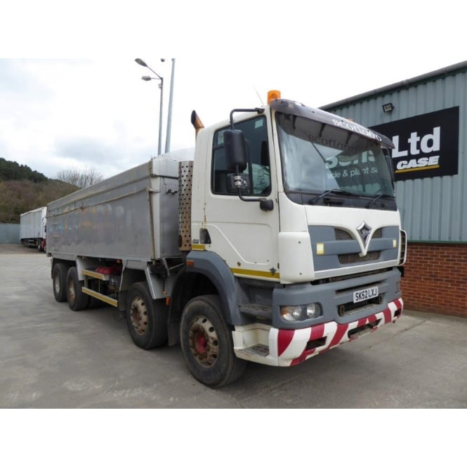 FODEN Alpha 3000-420 8x4 Tipper 2002 EATON MANUAL GEARBOX