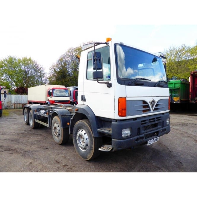 FODEN Alpha 3000 8x4 Chassis Cab 2000 EATON MANUAL GEARBOX