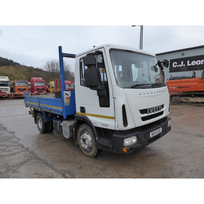 IVECO EUROCARGO 75E16 4x2 Tipper 2014 MANUAL GEARBOX
