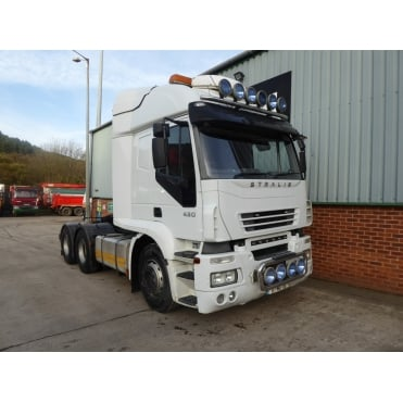 Stralis 430 6x4 Tractor Unit 2007 MANUAL GEARBOX
