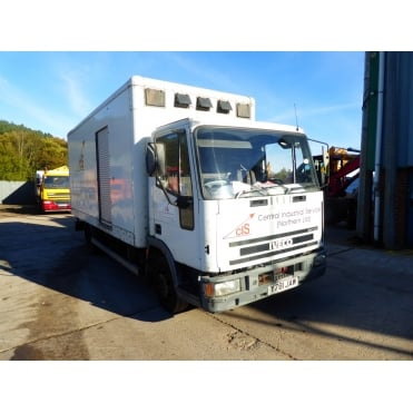 Tector 75E17 4x2 Box Van 2001 MANUAL GEARBOX