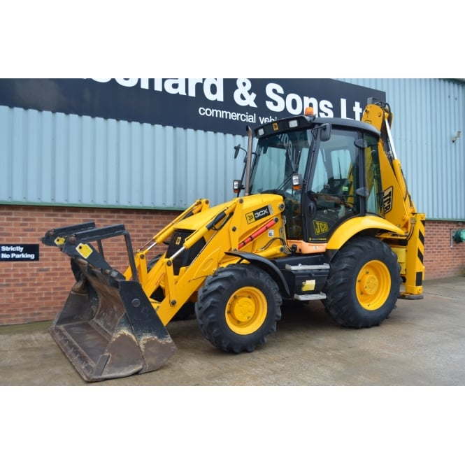 JCB 3CX Contractor Plus, Backhoe Loader.