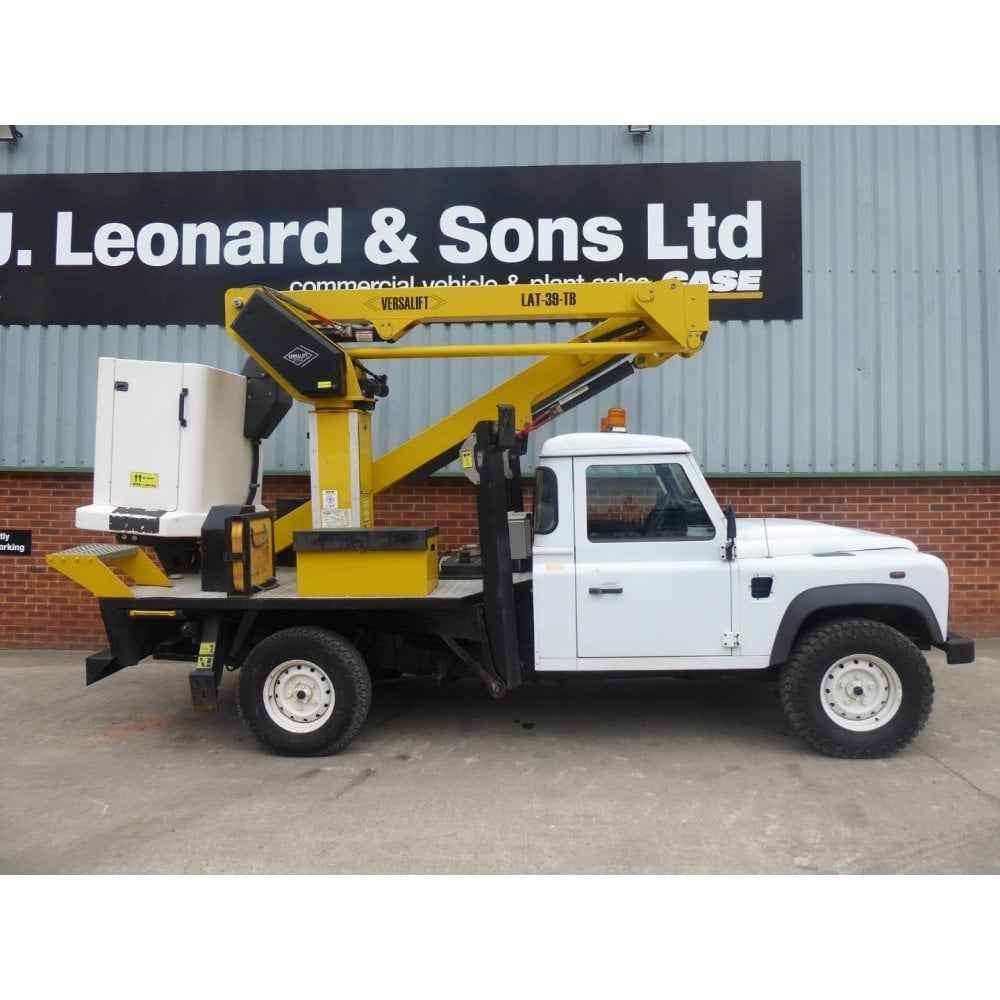 LAND ROVER Defender 130 4 x 4 Cherry Picker, Manual Gearbox, 2013