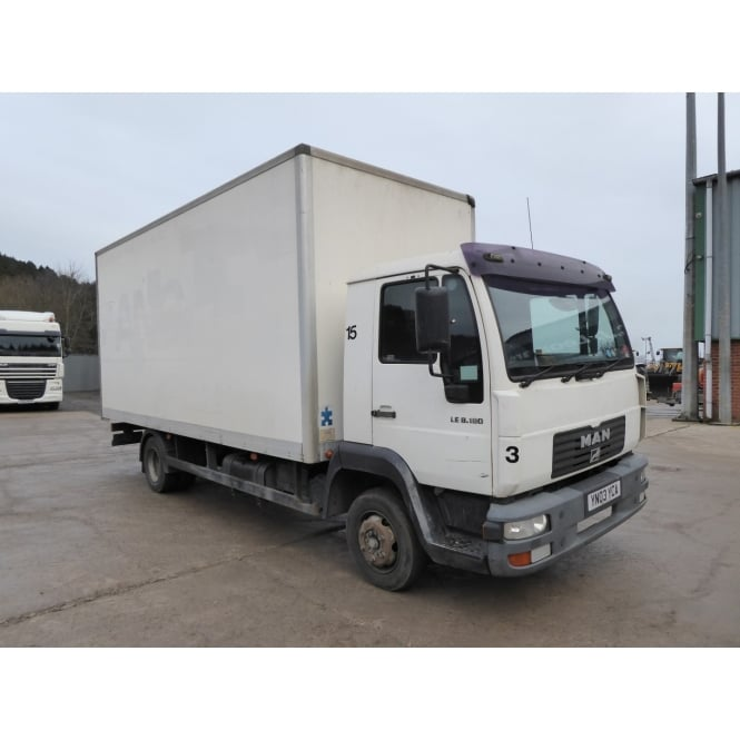 MAN LE8.180 4 X 2 BOX VAN 2003