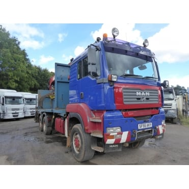 TGA 33-430 6x6 Log Grab Lorry 2007