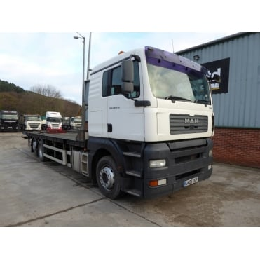 TGA 430 6x2 Flatbed Rear Lift 2005