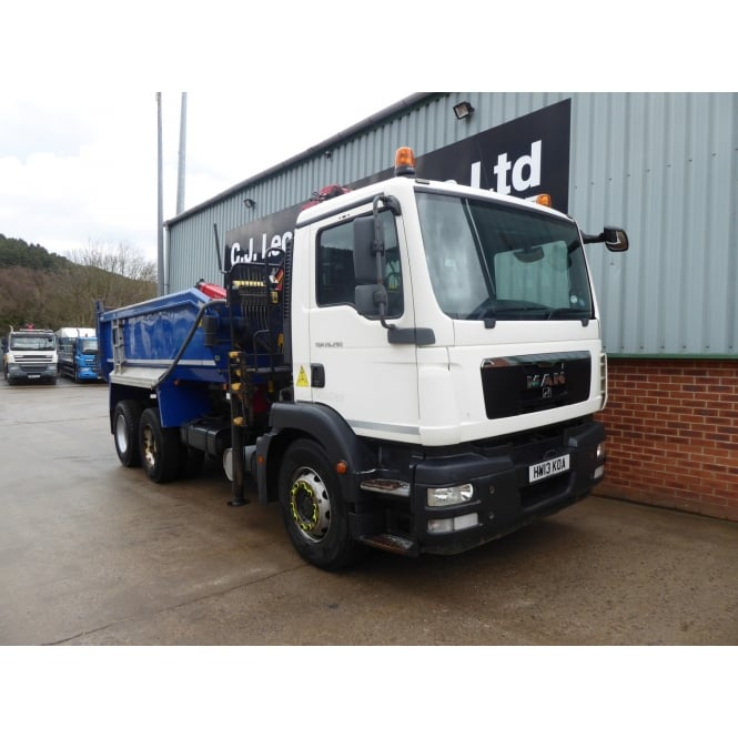 MAN TGM26.290 6 x 4 Tipper Grab 2013
