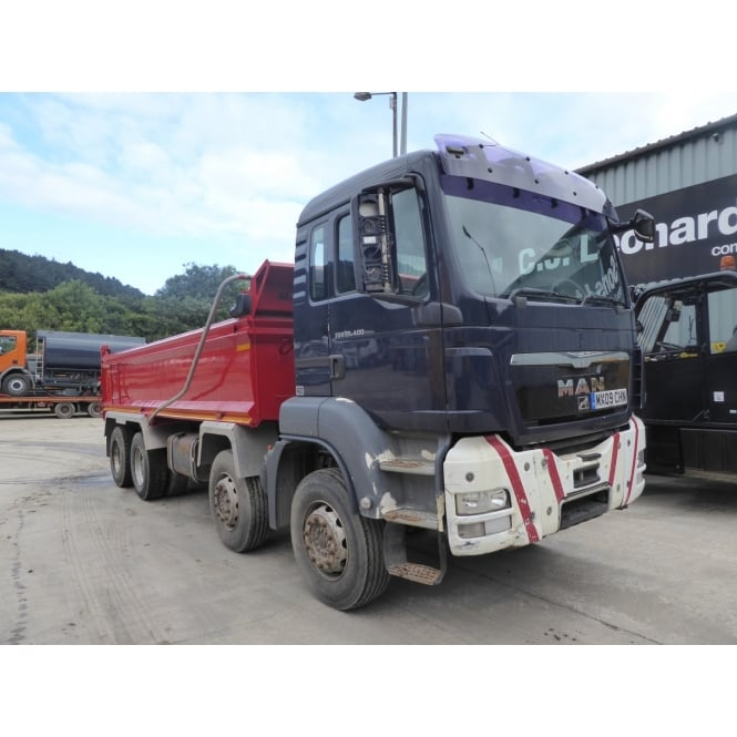 MAN TGS35.400 8 x 4 Tipper 2009