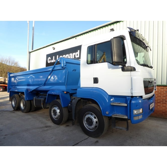 MAN TGS35.400 8 X 4 TIPPER 2014